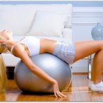 バランスボールは使い方次第で空気の入れ具合を変えよう
